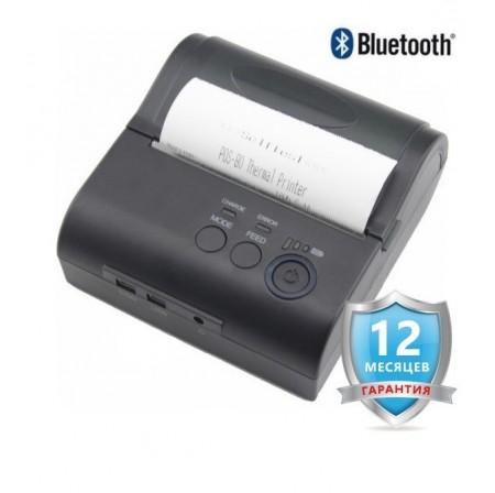 Портативный Bluetooth принтер чеков Jepod JP-80LYA  (80 мм)