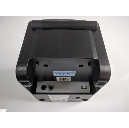 Принтер для печати ценников штрих кодов Xprinter XP-370B